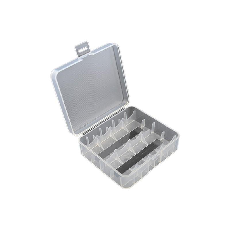 aufbewahrungsbox f r 2x 26650 oder 4x 18650 li ion akkus doktor dampf e zigaretten liquid. Black Bedroom Furniture Sets. Home Design Ideas